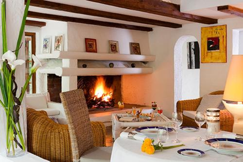 A restaurant or other place to eat at Mangio Fango Hotel et Spa