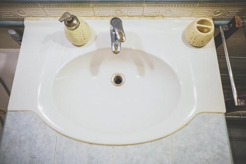 Ванная комната в Guest House Expo na Kutuzovskom