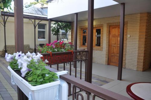 Патио или другая зона на открытом воздухе в Guest House na samburova