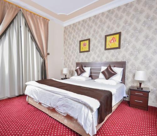 Um quarto em Night For You Suite Apartment 1 (Families Only)