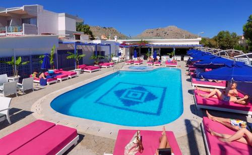 The swimming pool at or near Kolymbia Bay Art - Adults Only