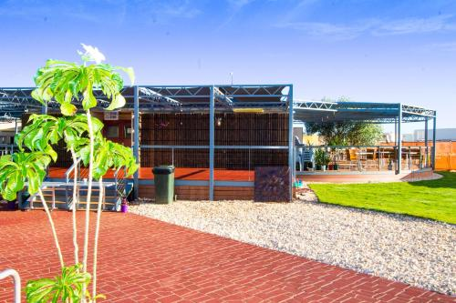 Children's play area at The Landing Port Hedland