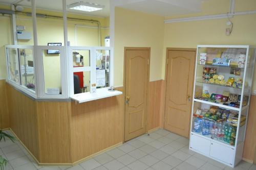 Лобби или стойка регистрации в mini-hotel na Melentjeva