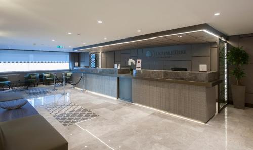 Лобби или стойка регистрации в DoubleTree by Hilton Istanbul - Sirkeci
