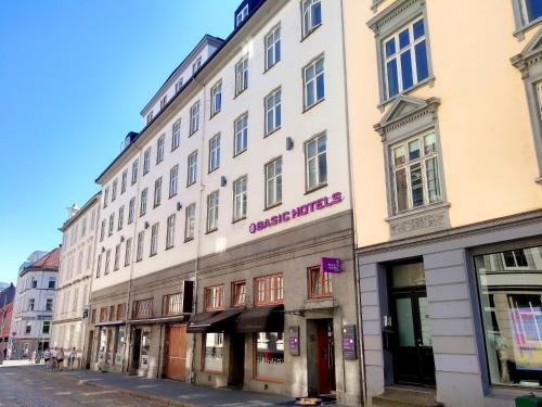 Fasade eller inngang på Basic Hotel Bergen