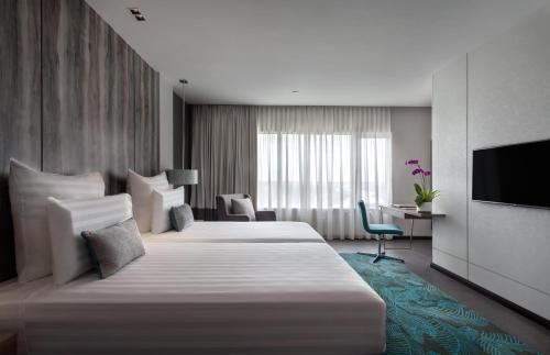 A room at Pullman Miri Waterfront