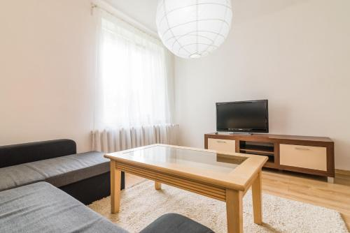 Hol lub bar w obiekcie Apartament Ku Słońcu - Hel