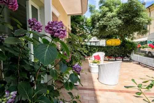 A porch or other outdoor area at Residence Villa Ofelia
