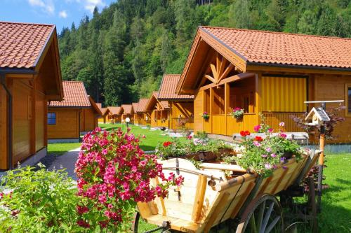 البناء الذي يحتوي منتزه العطلات
