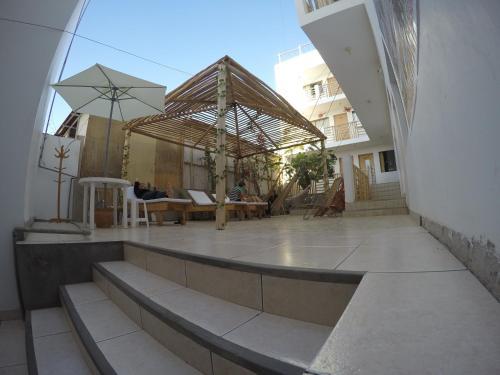 Piscine de l'établissement Paracas Backpackers House ou située à proximité