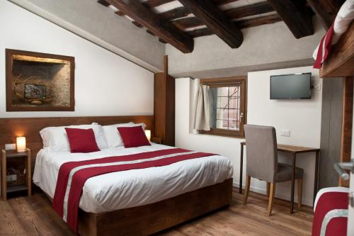 A bed or beds in a room at BnB 1504