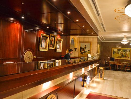 O lounge ou bar de Odst Jeddah Hotel