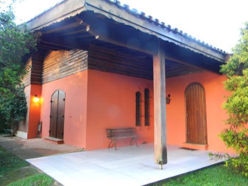 Uma varanda ou outra área externa em Casa do sol