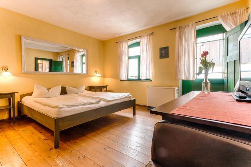 Ein Zimmer in der Unterkunft Pension Rauschenstein