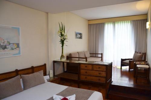 The lounge or bar area at Edificio Corrientes 1856