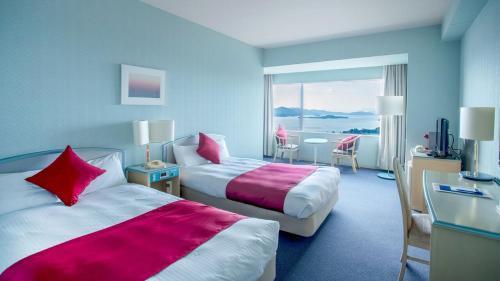 A room at Setouchi Kojima Hotel Kurashiki