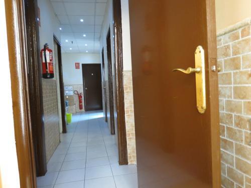 Hall ou réception de l'établissement Hostal Nou Raval