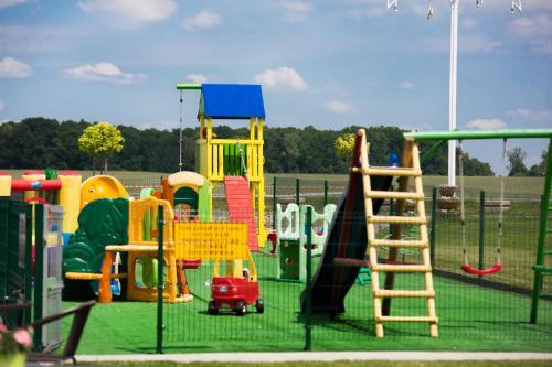 Children's play area at Restauracja Joanna