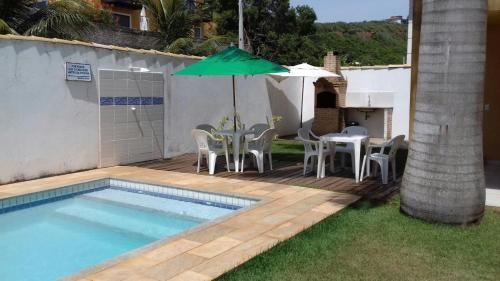 The swimming pool at or near Chale Buzios Praia Rasa