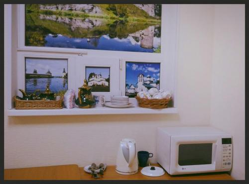 Кухня или мини-кухня в Хостел Древний Псков