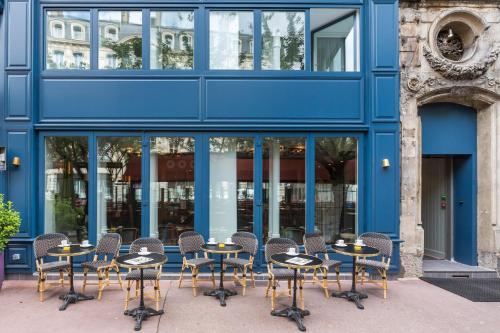 Terrasse ou espace extérieur de l'établissement Hôtel Silky by HappyCulture