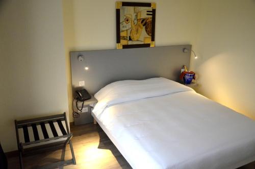 A room at Le Grand Hotel