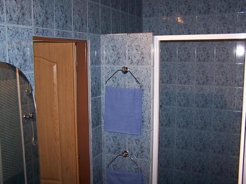 A bathroom at Hotel U Jelena