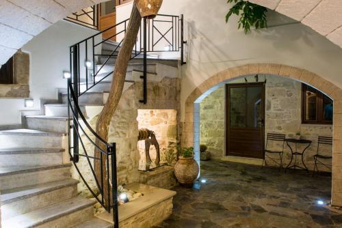 Αίθριο ή υπαίθριος χώρος στο Athina House Spa & Hammam