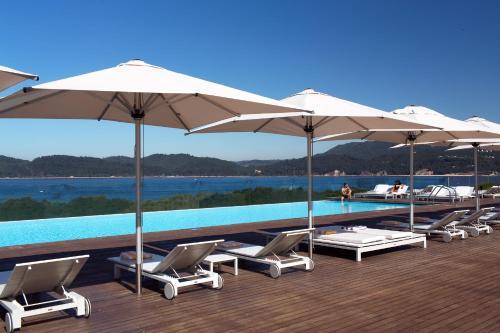 A piscina em ou perto de Troia Design Hotel