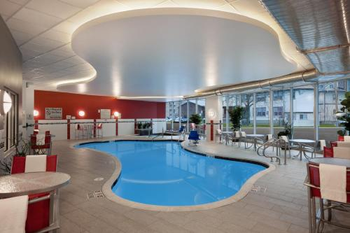 The swimming pool at or near Hampton Inn & Suites Madison Downtown