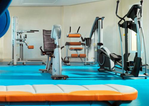 Het fitnesscentrum en/of fitnessfaciliteiten van Iberostar Selection Royal El Mansour