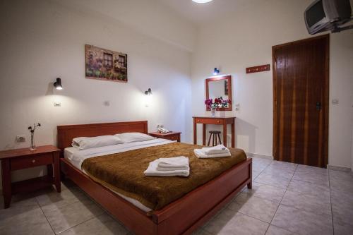 Номер в Ammoudi Hotel