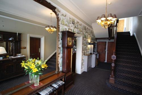 The lobby or reception area at The Coledale Inn
