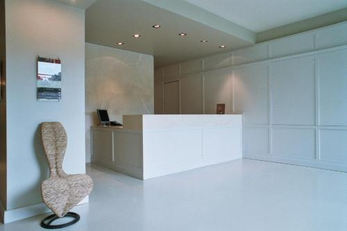 The lobby or reception area at Wall Art Hotel & Residence