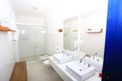 Um banheiro em Pousada Porto Imperial