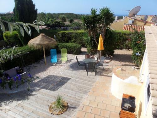 Un patio o zona al aire libre en Nature Beach Resort Quinta Al-Gharb