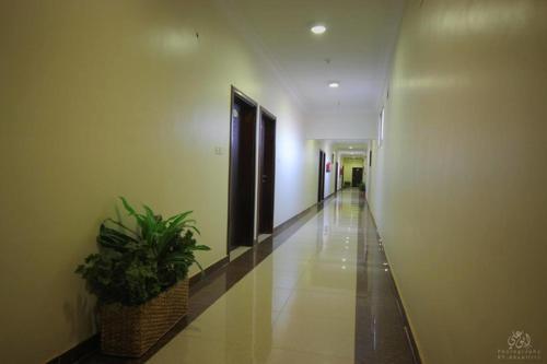 O saguão ou recepção de Orkid Arar Residential Units