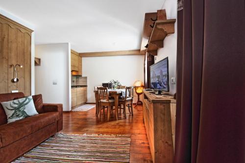 A seating area at Appartamento Zepp