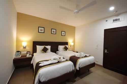 A room at Hotel Gandharva- A Green Hotel