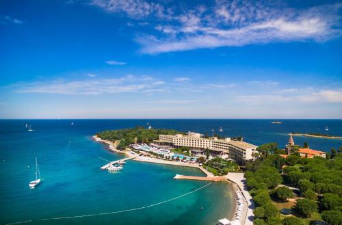 A bird's-eye view of Island Hotel Istra
