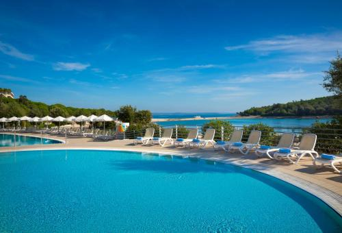 The swimming pool at or near Island Hotel Istra