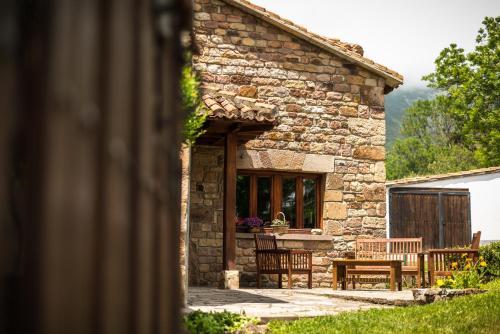 Un patio o zona al aire libre en Casavieja Rural