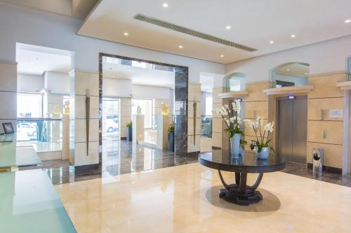 Hall o reception di Maritim Antonine Hotel & Spa