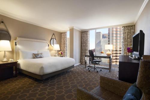 A room at Fairmont Dallas