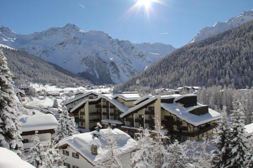 Alpina Residence durante l'inverno