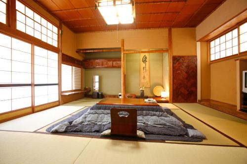 Een kamer bij Shimizu Ryokan