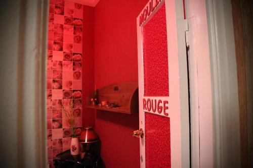 A bathroom at Loft Hostel Minsk