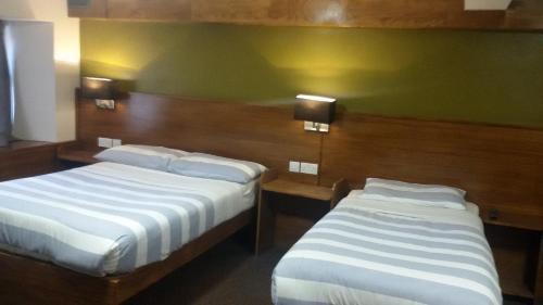 A room at Adelphi Hotel