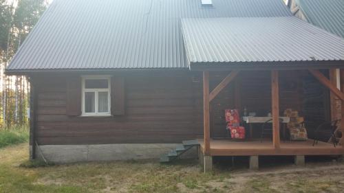Patio lub wspólna przestrzeń na świeżym powietrzu w obiekcie Mazurska Perła