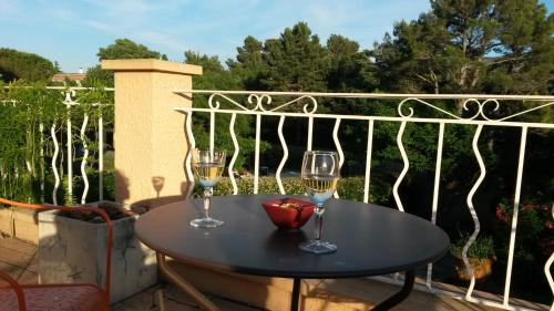 Balcon ou terrasse dans l'établissement Canto Cigalo